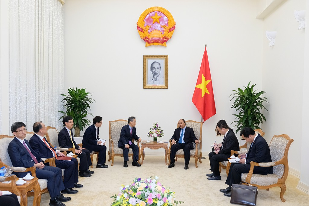 Thủ tướng tiếp cựu Bộ trưởng điều phối chính sách Hàn Quốc - ảnh 1