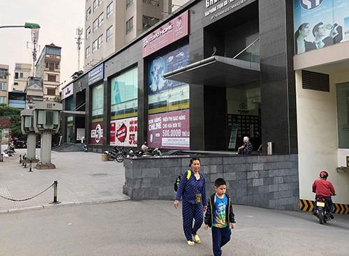 Tháp B văn phòng thuộc toà nhà hỗn hợp HH1 (ngõ 102 Trường Chinh, quận Đống Đa) là một trong 17 công trình tồn tại vi phạm PCCC. .