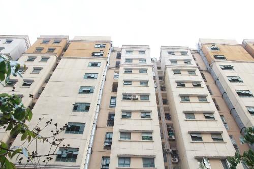 Toà nhà C khu tái định cư An Sinh, tổ 14 phường Cầu Diễn, quận Nam Từ Liêm có nhiều tồn tại về PCCC.