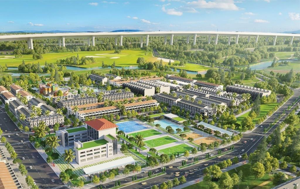 Phối cảnh dự án Bảo Lộc Golden City.