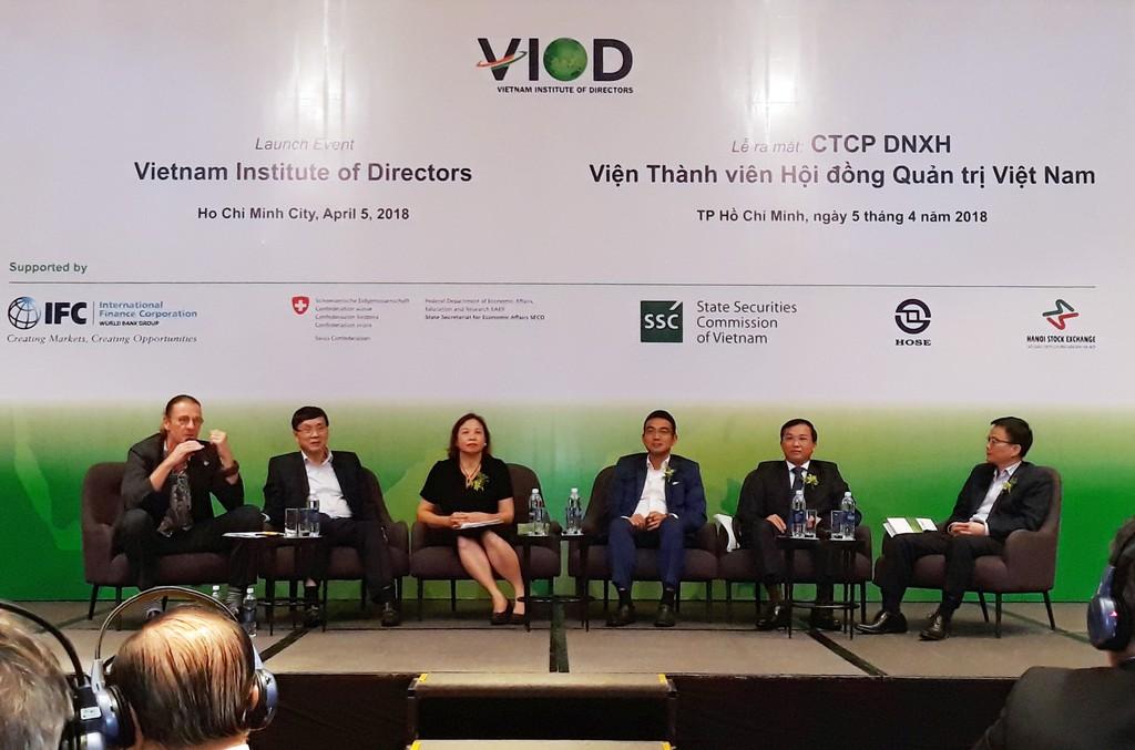 VIOD hoạt động nhằm thúc đẩy các chuẩn mực và thông lệ tốt nhất trong quản trị công ty trong nước. Ảnh: Ngô Ngãi
