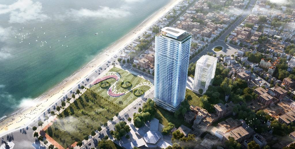 Phối cảnh dự án TMS Luxury Hotel & Residence Quy Nhon.