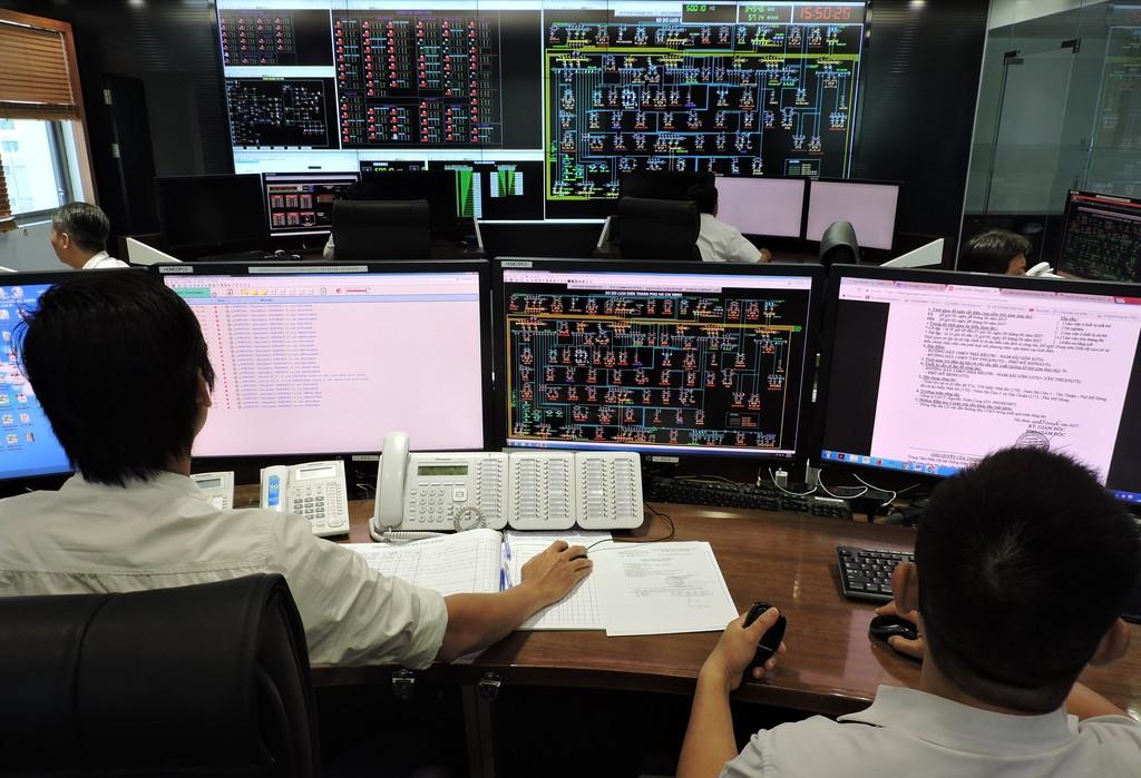 Trung tâm Điều độ hệ thống điện - nơi điều khiển lưới điện thông minh