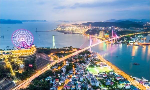 Một góc thành phố Hạ Long