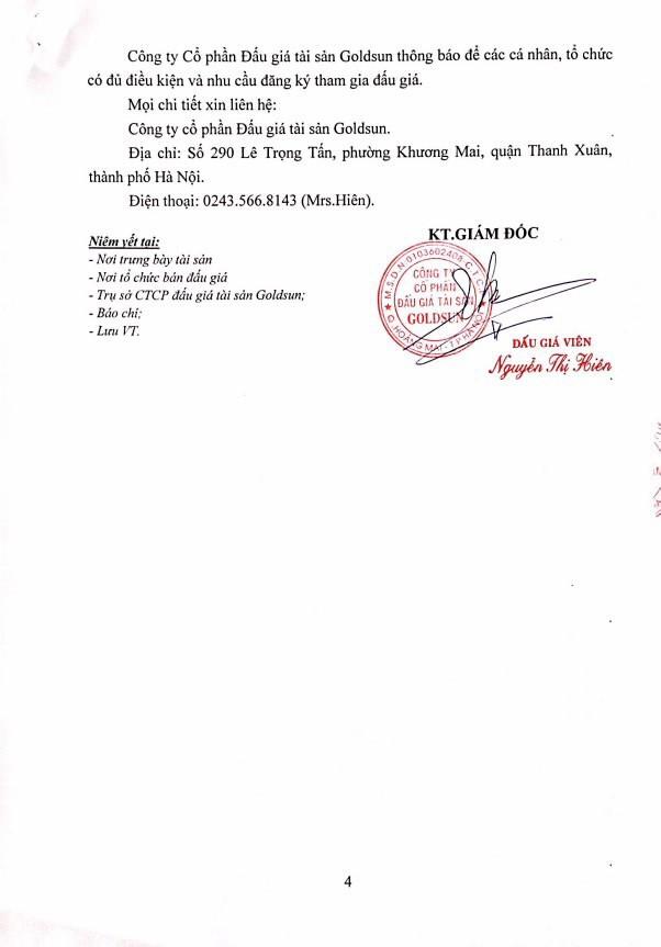 Đấu giá xe ô tô tại Hà Nội - ảnh 4
