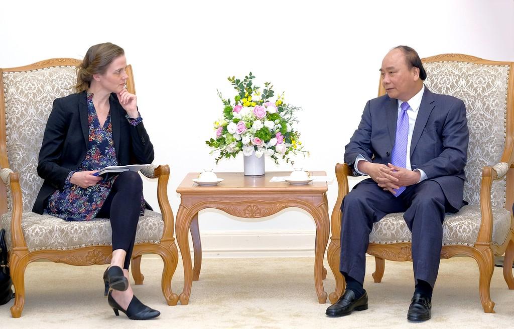 Thủ tướng Nguyễn Xuân Phúc tiếp Bộ trưởng Y tế Đan Mạch - ảnh 1