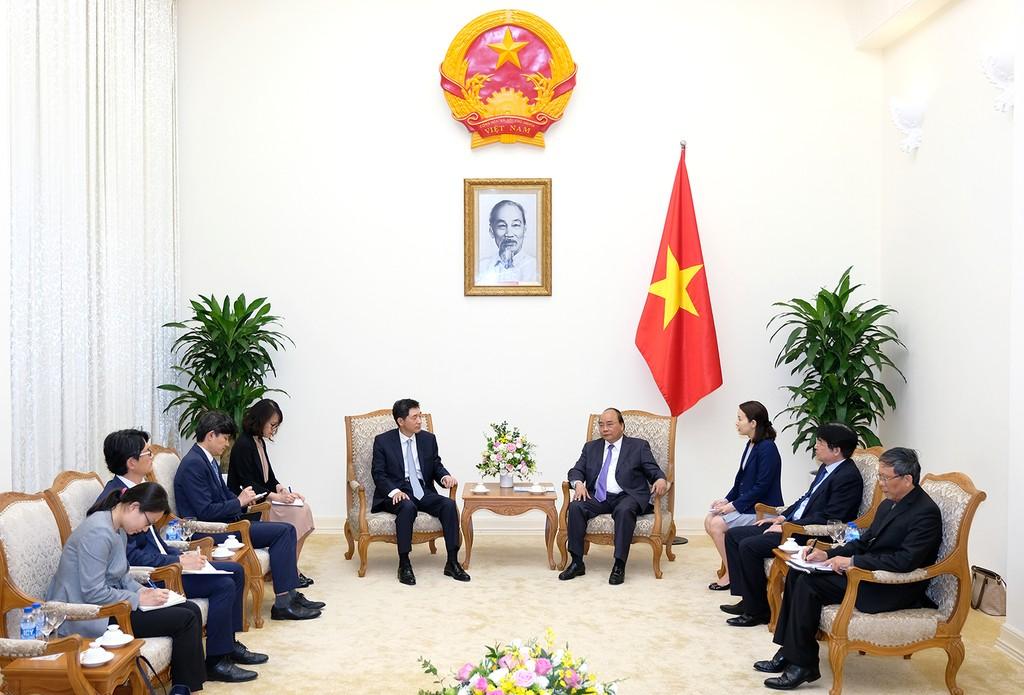 Thủ tướng Nguyễn Xuân Phúc tiếp Đại sứ Hàn Quốc - ảnh 1