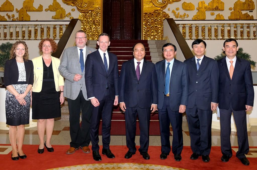 Việt Nam luôn tạo điều kiện thuận lợi cho các doanh nghiệp Đức - ảnh 1