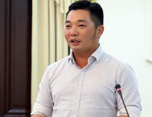 Chủ tịch Quận 12 Lê Trương Hải Hiếu.
