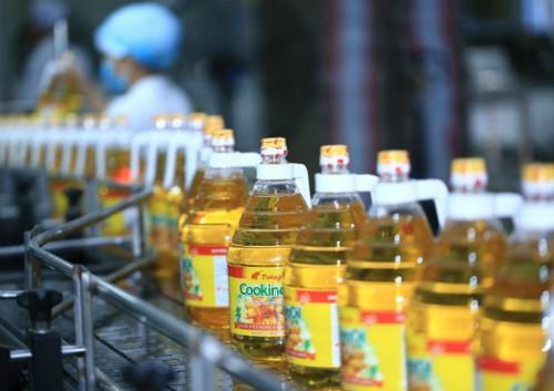 Dây chuyền sản xuất dầu ăn Tường An.