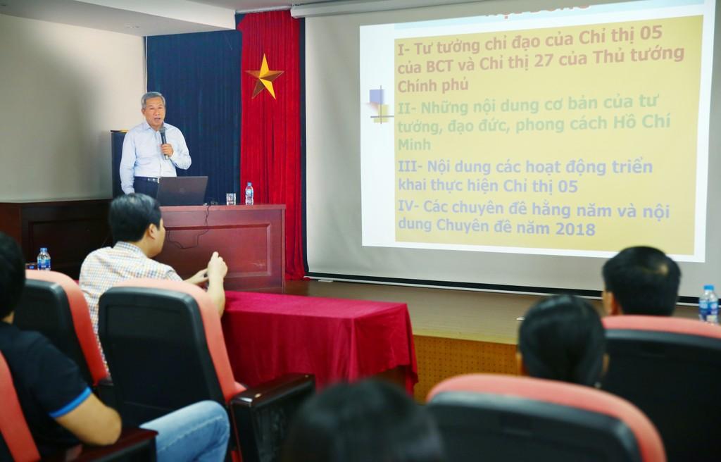 Báo Đấu thầu triển khai học tập và làm theo tư tưởng, đạo đức, phong cách Hồ Chí Minh - ảnh 1