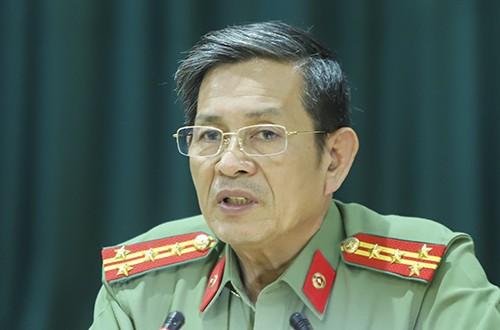 Đại tá Lê Văn Tam - Giám đốc Công an Đà Nẵng.