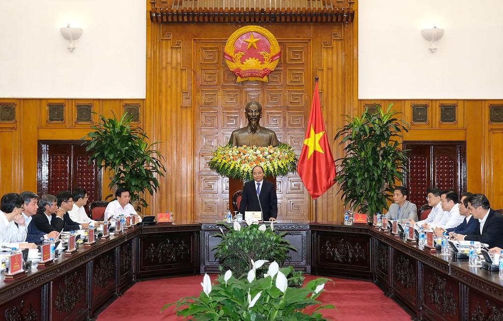 Thủ tướng làm việc với Tổ tư vấn kinh tế - ảnh 2