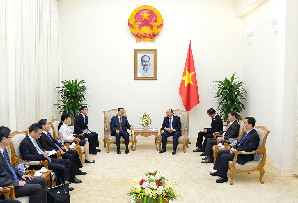 Thủ tướng tiếp Chủ tịch Khu tự trị dân tộc Choang Quảng Tây - ảnh 1