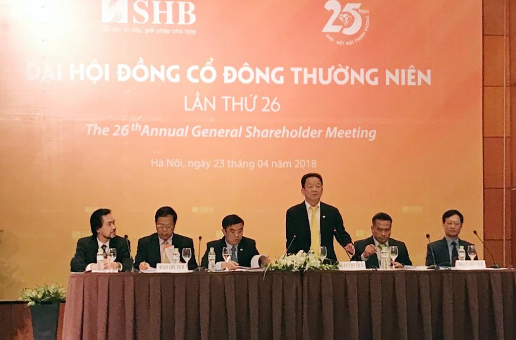 Quang cảnh đại hội ĐHĐCĐ thường niên năm 2018. Ảnh: Hoàng Việt