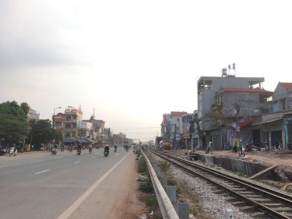 Tuyến đường thị trấn Vôi, huyện Lạng Giang. Ảnh Internet