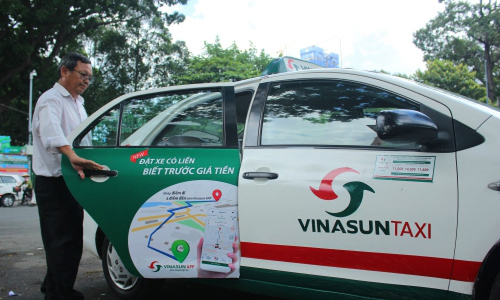 Lợi nhuận của Vinasun chủ yếu đến từ thanh lý tài sản cố định và quảng cáo trên taxi.