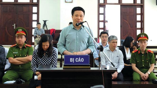 Bị cáo Hà Văn Thắm tại phiên xét xử phúc thẩm