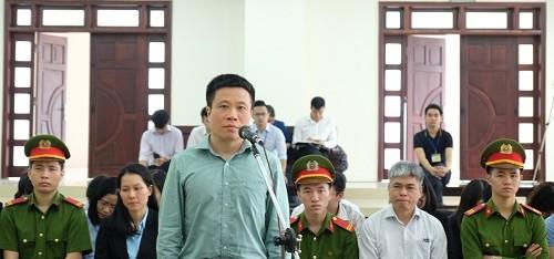Bị cáo Hà Văn Thắm khai tại phiên phúc thẩm.