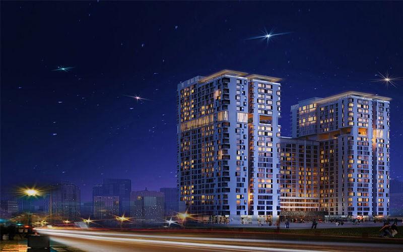 The Golden Star (Quận 7, TP.HCM), dự án đầu tiên mà hai bên hợp tác.