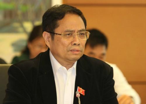 Trưởng ban Tổ chức trung ương Phạm Minh Chính. Ảnh: P.V