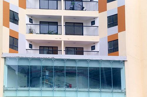 Chung cư ở Hà Nội bị đề nghị cắt điện nước do vi phạm PCCC - ảnh 1