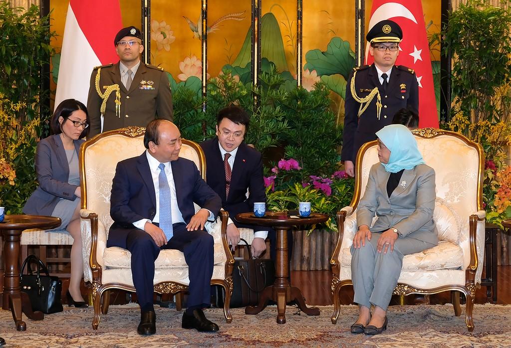 Thủ tướng Việt Nam và Singapore hội đàm - ảnh 1