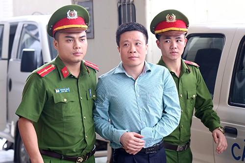 Ông Hà Văn Thắm tại phiên phúc thẩm.