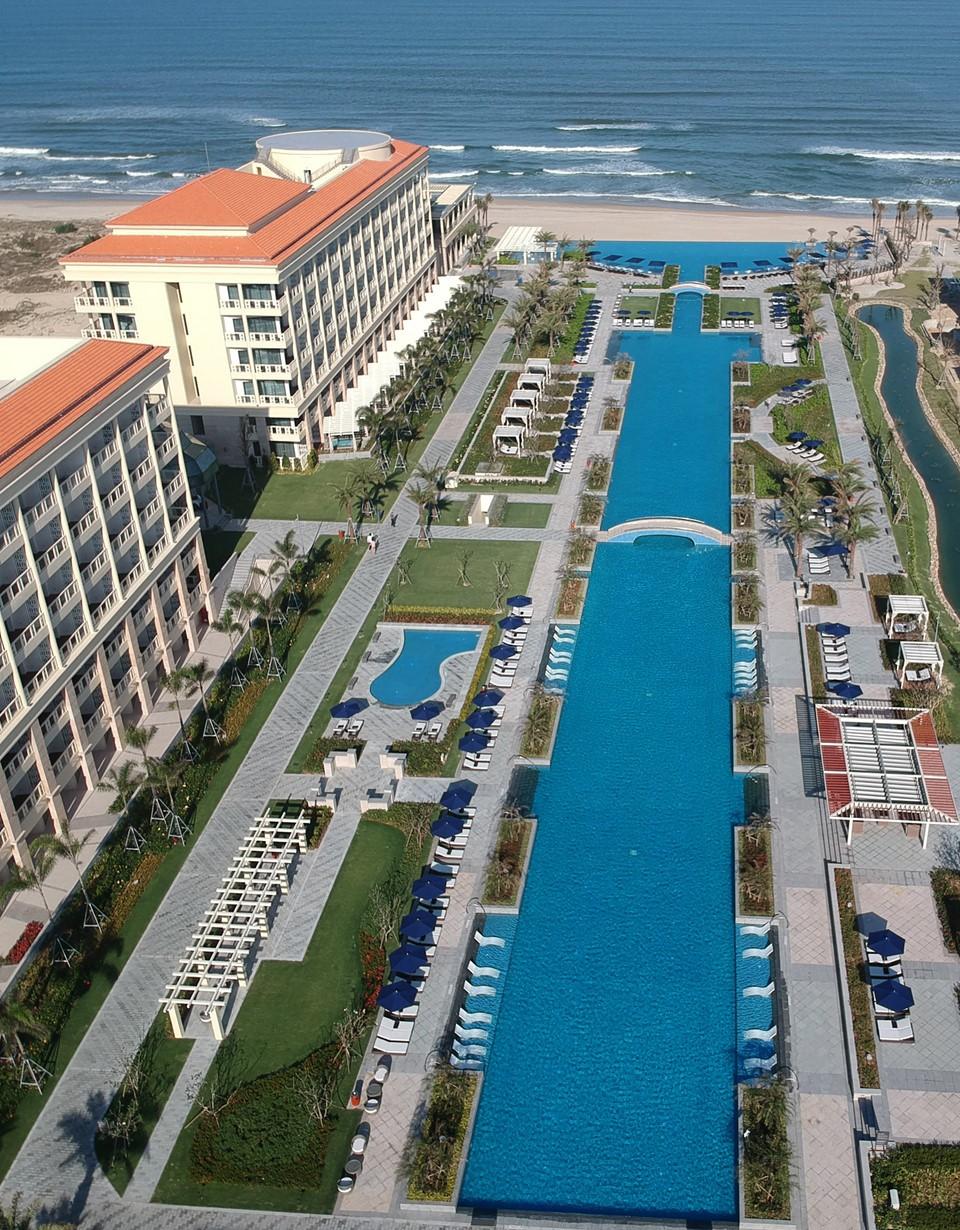 Chiêm ngưỡng khu nghỉ dưỡng đầu tiên đạt chuẩn Sheraton Grand tại Đông Nam Á - ảnh 3