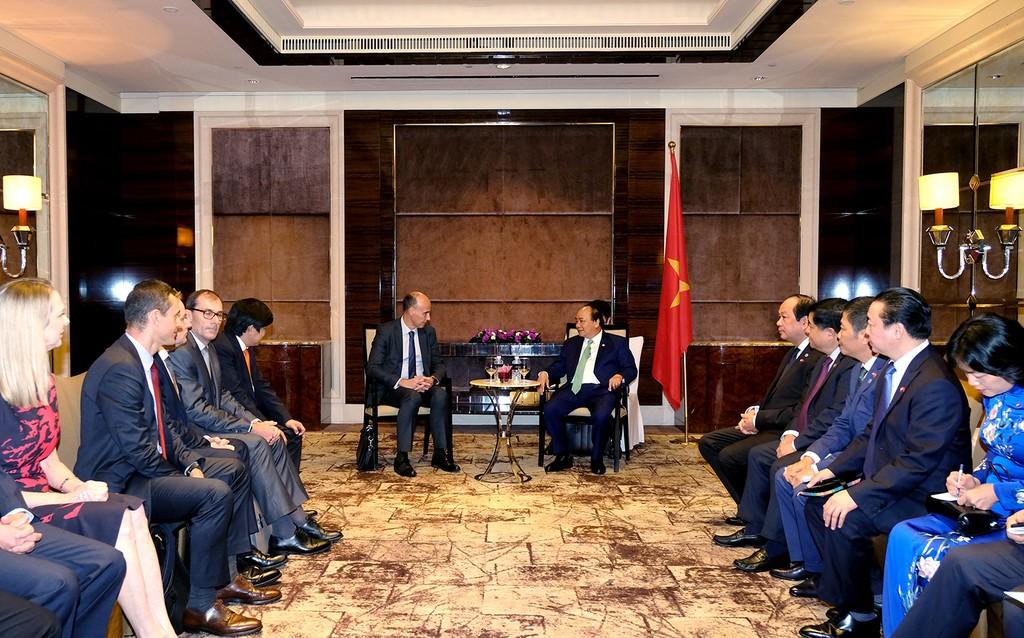 Thủ tướng Nguyễn Xuân Phúc tiếp lãnh đạo Tập đoàn Total - ảnh 1