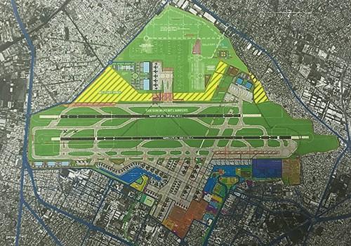 Nhà ga hành khách T3 - Tân Sơn Nhất sẽ được xây dựng ở phía nam theo đề xuất của Công ty Tư vấn ADP-I (Pháp).