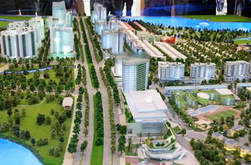 Khu đô thị Thủ Thiêm trong tương lai.