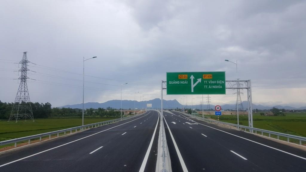 Dự án Xây dựng đường cao tốc Đà Nẵng - Quảng Ngãi. Ảnh Internet