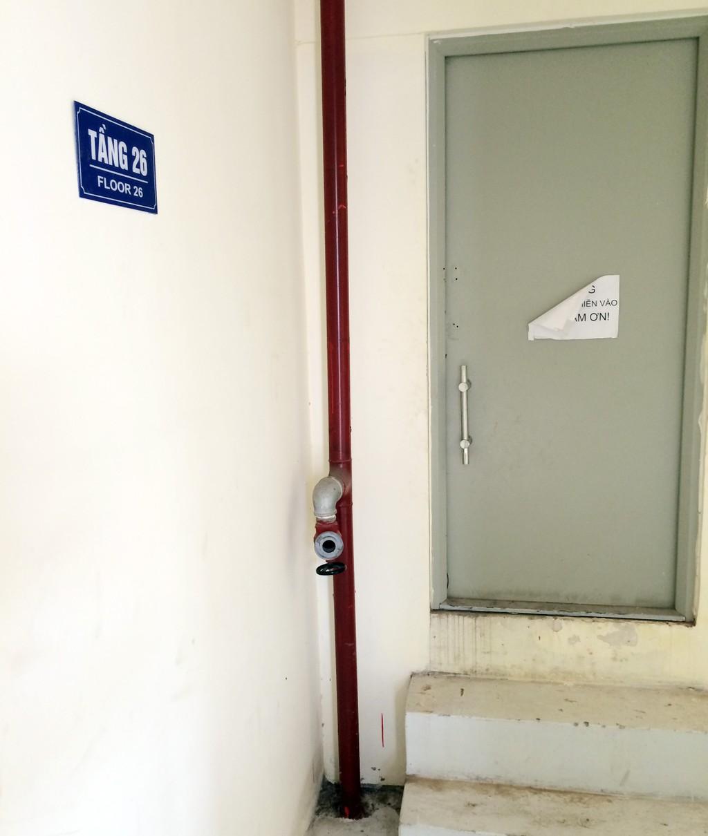 Hệ thống PCCC Chung cư Thăng Long Garden vẫn chưa thể hoạt động - ảnh 12
