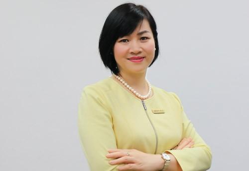 Tân CEO Dương Thị Mai Hoa. Ảnh: PV.
