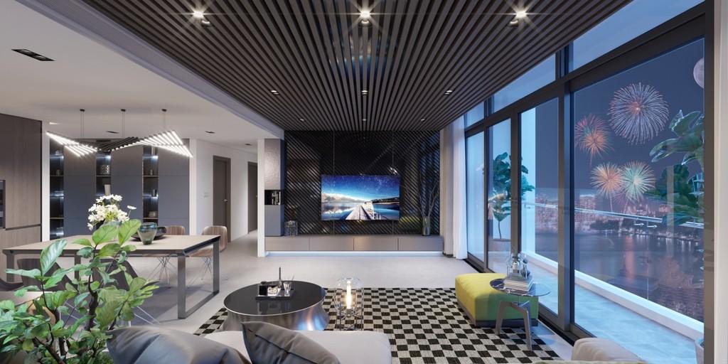 Gợi ý chọn nội thất siêu sang cho căn hộ cao cấp - ảnh 1