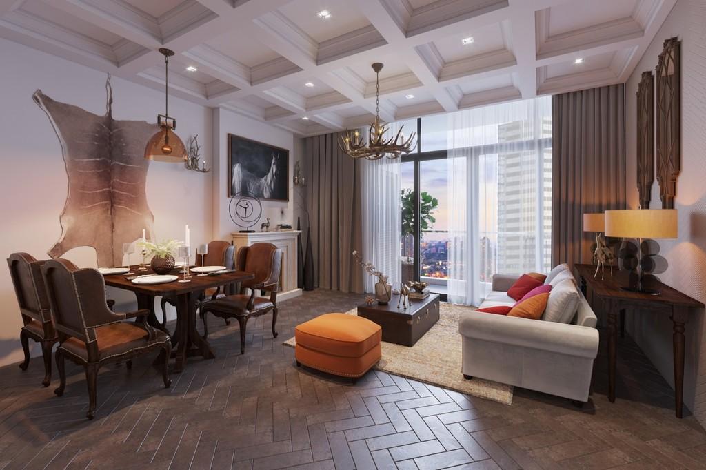 Gợi ý chọn nội thất siêu sang cho căn hộ cao cấp - ảnh 5