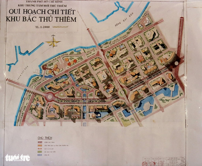 Ông Võ Viết Thanh công bố 13 bản đồ quy hoạch Thủ Thiêm 1/5000 - ảnh 3