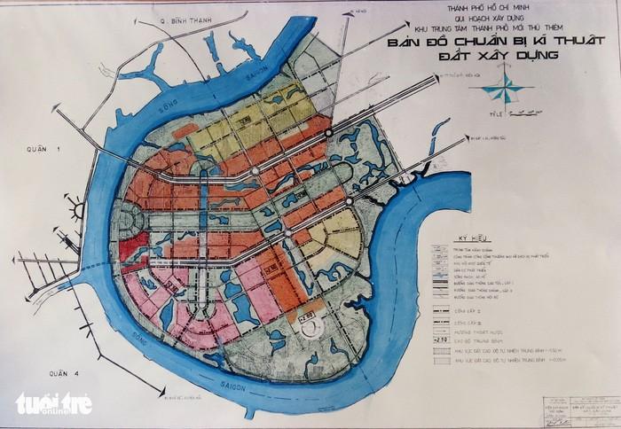 Ông Võ Viết Thanh công bố 13 bản đồ quy hoạch Thủ Thiêm 1/5000 - ảnh 7
