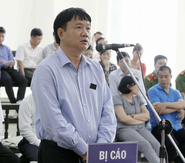 Ông Đinh La Thăng khai gì khi thuộc cấp kháng cáo kêu oan. Ảnh: TTXVN