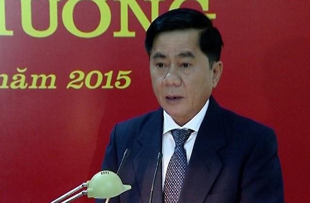 Ông Trần Cẩm Tú được Ban Chấp hành Trung ương bầu làm Chủ nhiệm UB Kiểm tra Trung ương.