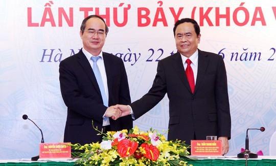 Ông Trần Cẩm Tú được bầu làm Chủ nhiệm UB Kiểm tra Trung ương - ảnh 1