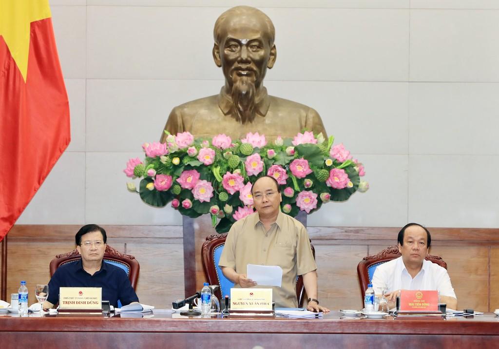 Thủ tướng làm việc với các tỉnh ĐBSCL về chống sạt lở - ảnh 1