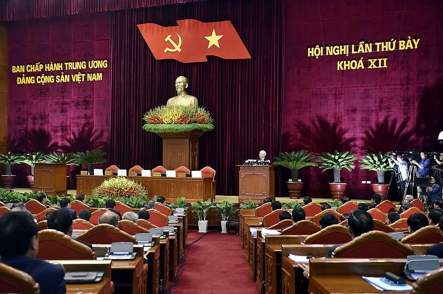 Hội nghị Trung ương 7 hoàn thành toàn bộ nội dung chương trình đề ra - ảnh 1