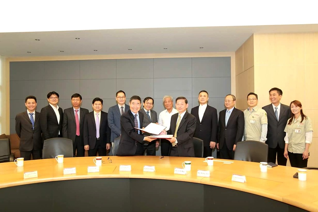 Hai bên đã chính thức ký kết hợp đồng thành lập công ty liên doanh