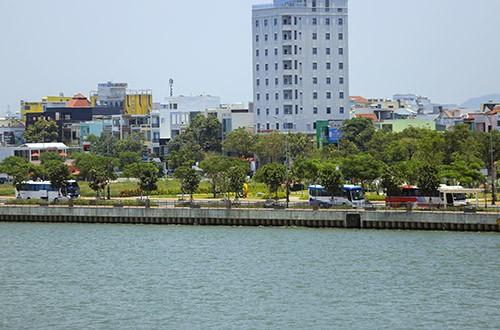 Vệt đất vàng ven sông Hàn sẽ được thu hồi để mở rộng công viên APEC.