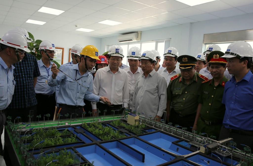 Duy trì chế độ kiểm soát môi trường đặc biệt tại Formosa Hà Tĩnh - ảnh 1