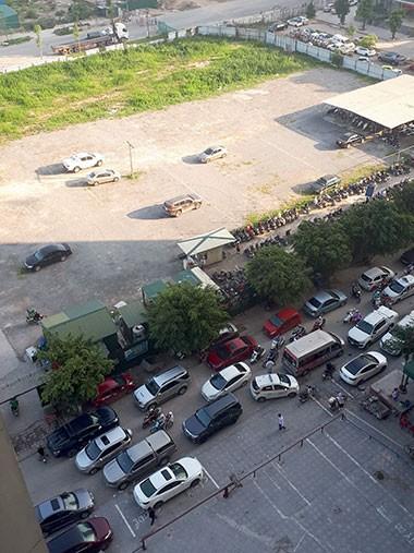 Cả nghìn dân chung cư ở Hà Nội náo loạn vì không có chỗ gửi ôtô - ảnh 2