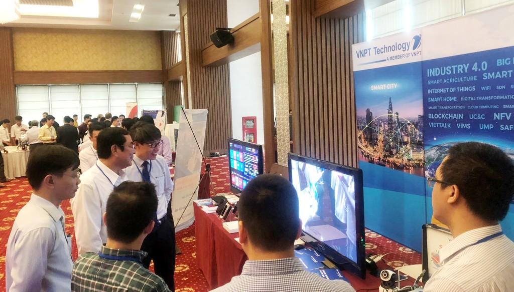 VNPT Technology trình diễn giải pháp công nghệ 4.0 tại sự kiện Thành phố thông minh Cần Thơ - ảnh 2