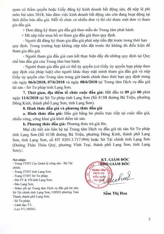 Đấu giá quyền sử dụng đất tại thành phố Lạng Sơn, Lạng Sơn - ảnh 3